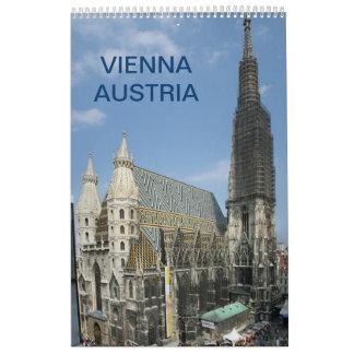 Vienne Autriche 2018 Calendrier
