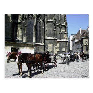 Vienne, Autriche, carte postale de voyage de