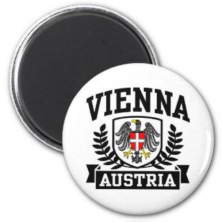Vienne Autriche Magnet Rond 8 Cm