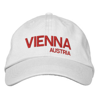 Vienne, casquette de baseball de blanc d'Austrai*