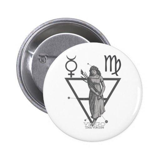 Vierge Badges Avec Agrafe