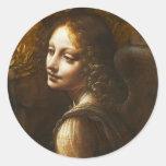 Vierge de da Vinci des autocollants d'ange de