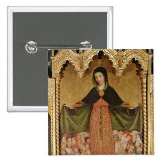 Vierge de Misericordia, détail de central Pin's