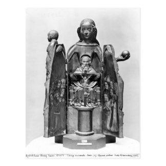Vierge, début du 15ème siècle carte postale