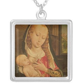 Vierge et enfant 2 pendentifs personnalisés