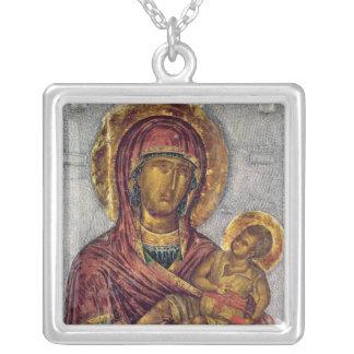 Vierge et enfant 3 pendentif carré
