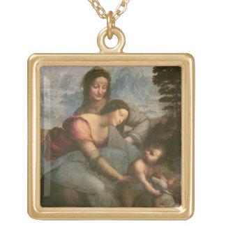 Vierge et enfant avec St Anne, c.1510 Pendentif Carré
