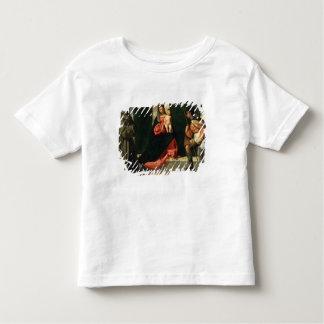 Vierge et enfant avec St Anthony de Padoue T-shirt Pour Les Tous Petits