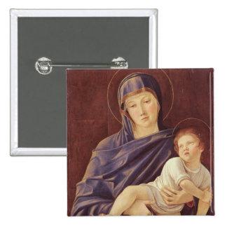 Vierge et enfant badge