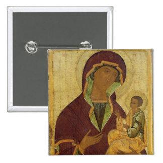Vierge et enfant, c.1500 badge