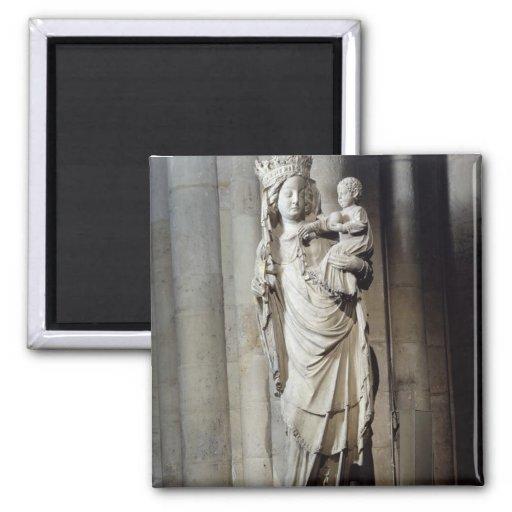 Vierge et enfant, connus sous le nom de Notre-Dame Aimant
