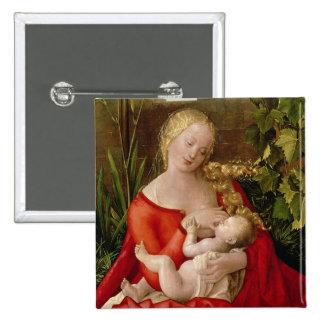 """Vierge et enfant """"Madonna avec l'iris"""", 1508 Badges"""