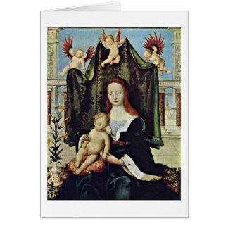 Vierge et enfant par Hans Holbein l'aîné Cartes