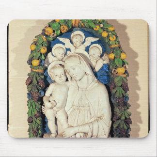 Vierge et enfant tapis de souris