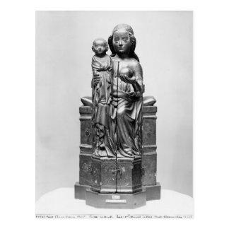 Vierge fermée, début du 15ème siècle cartes postales