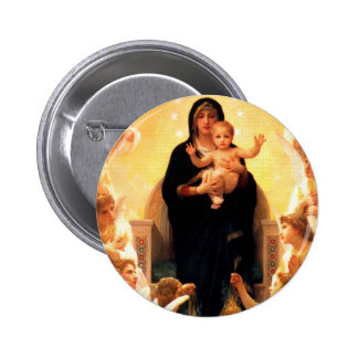 Vierge Marie Badge