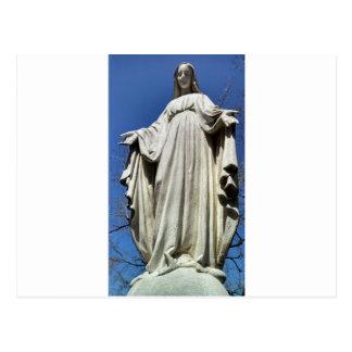 Vierge Marie béni Cartes Postales