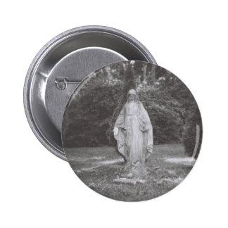 Vierge Marie béni dans la pierre - image de Holga Badge