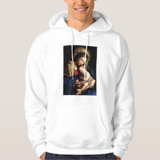 Vierge Marie béni et enfant Jésus de nourrisson Veste À Capuche
