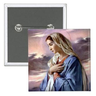 Vierge Marie béni - mère de Dieu Pin's