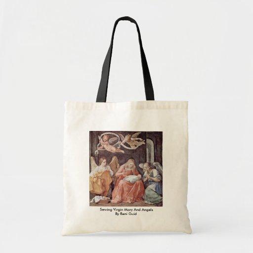 Vierge Marie de couture et anges par Reni Guido Sacs