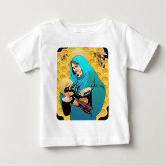 Vierge Marie Madonna et gaffent l'abeille T-shirts