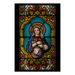Vierge Marie Poster