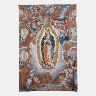 """""""Vierge serviette de main de Guadalupe"""" Linge De Cuisine"""