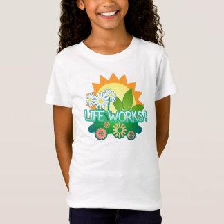 Vies actives ! T-shirt de blanc de filles
