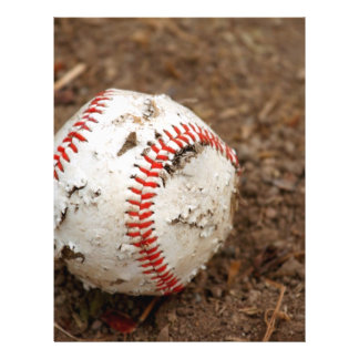 vieux base-ball prospectus 21,6 cm x 24,94 cm
