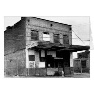 Vieux bâtiment d abandon carte