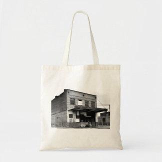Vieux bâtiment d'abandon sac