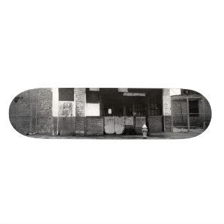 Vieux bâtiment d'abandon skateboards cutomisables