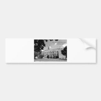 Vieux bâtiment de capitol - Milledgeville, la Géor Autocollants Pour Voiture