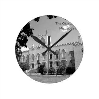 Vieux bâtiment de capitol - Milledgeville, la Géor Horloges Murales