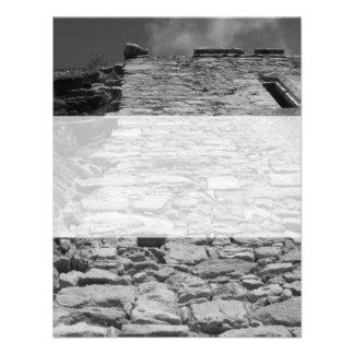 Vieux bâtiment Mur en pierre grand Invitations