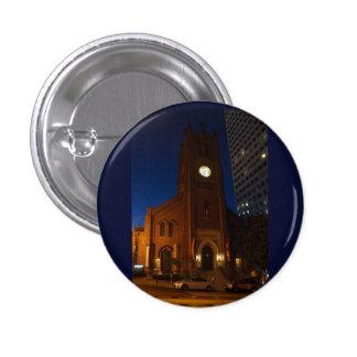Vieux bouton de Pinback de la cathédrale de Mary Pin's