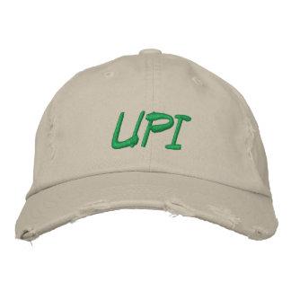 Vieux casquette réglable déchiré d'UPI Casquette Brodée