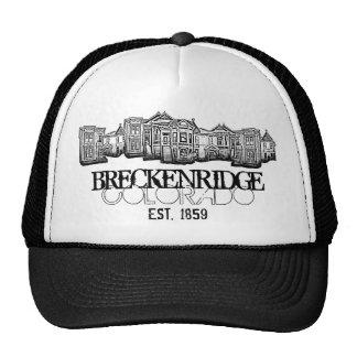 Vieux chapeau de bâtiments de ville de Breckenridg Casquette De Camionneur