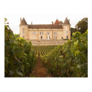 Vieux Chateau de Rully médiéval dans Cote Carte Postale