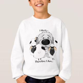 Vieux chien de berger anglais - troupeau d'I par Sweatshirt