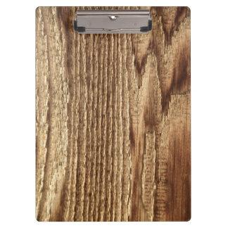 Vieux Cipboard en bois porté
