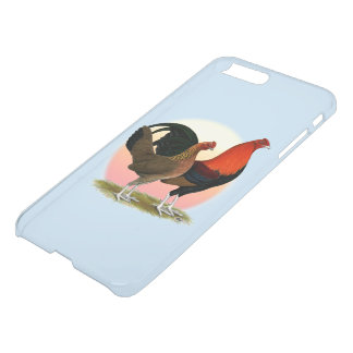 Vieux coq nain anglais de jeu :  Rouge de BB Coque iPhone 7 Plus