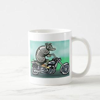 Vieux cycliste croustillant mug blanc