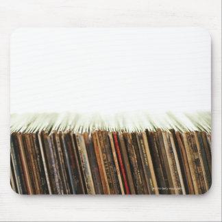 Vieux disques tapis de souris