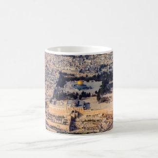 Vieux dôme de Jérusalem de ville de l'Esplanade Mug