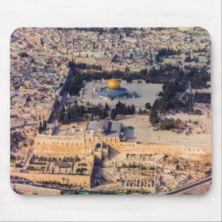 Vieux dôme de Jérusalem de ville de l'Esplanade Tapis De Souris