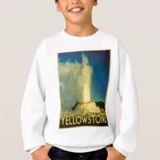 Vieux fidèle de Yellowstone Sweatshirt