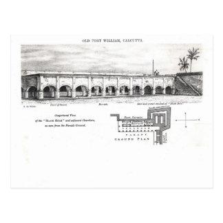 Vieux Fort William, Calcutta Carte Postale