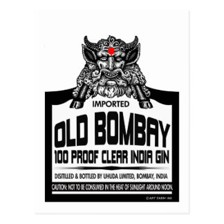 Vieux genièvre de Bombay Carte Postale
